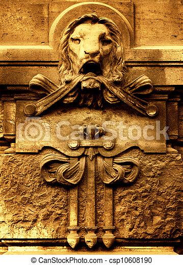 Ancient architechture detail - csp10608190