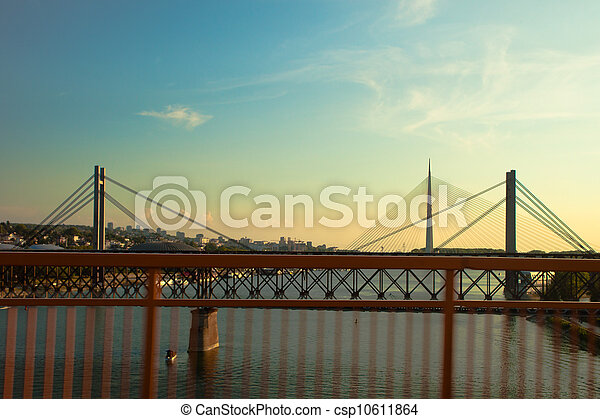 bridges in Belgrade - csp10611864