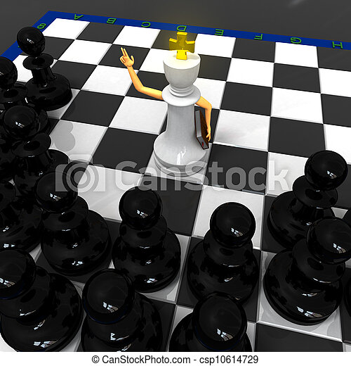 Chess religion - csp10614729