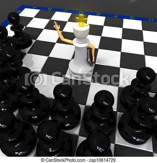 Chess religion - csp10614729