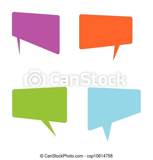 señal, idioma, cómicos, vector - csp10614758