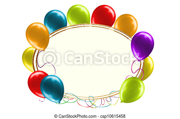 Catchy Birthday Message Sign - csp10615458