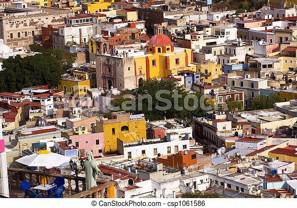 Balcony Churches Mexico - csp1061586