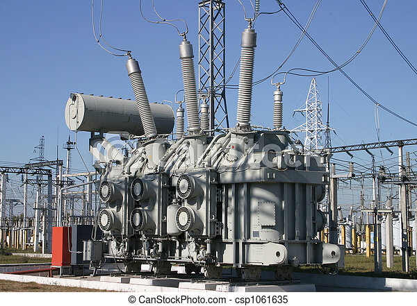 Electrical substation  - csp1061635
