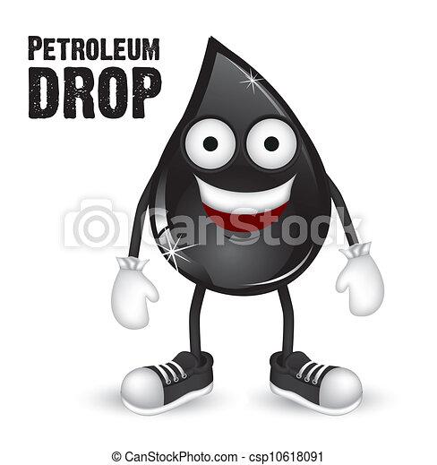 EPS vectores de petróleo, gota - Ilustración, petroelum, gota ...