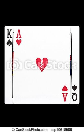Divorce Gambling Addiction - csp10618586