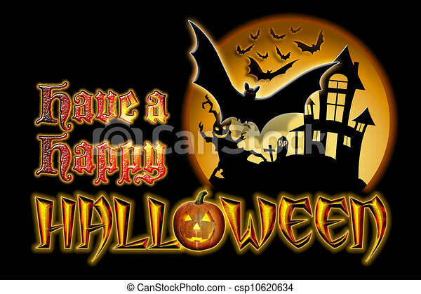 drawings of have a happy halloween graphic have a happy