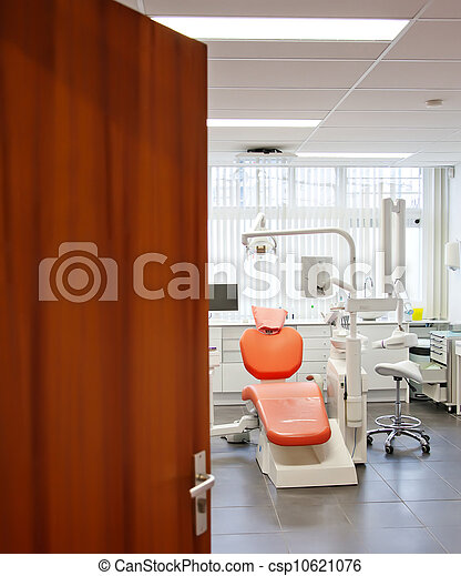 empty dental room  - csp10621076