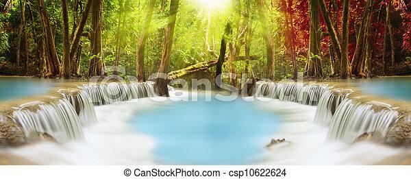 Huai Mae Kamin Waterfall - csp10622624