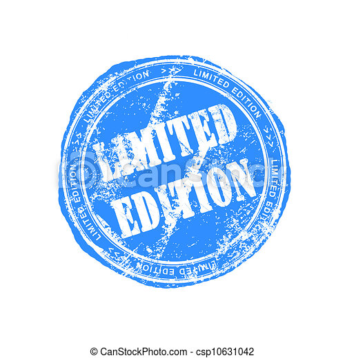 Limited Edition Icon Limited Edition Rubber Stamp