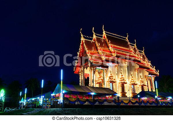 The thai church  - csp10631328