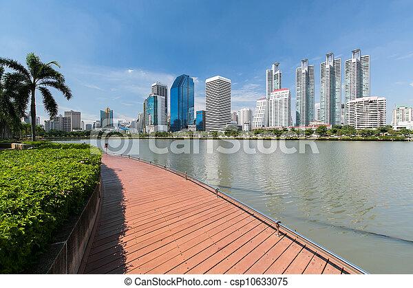 city scape of Bangkok, Thailand - csp10633075