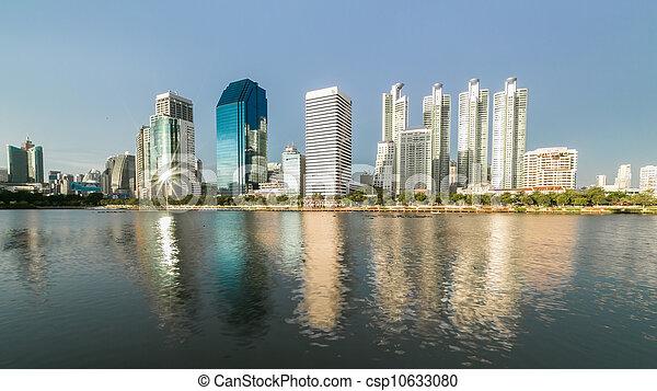city scape of Bangkok, Thailand - csp10633080