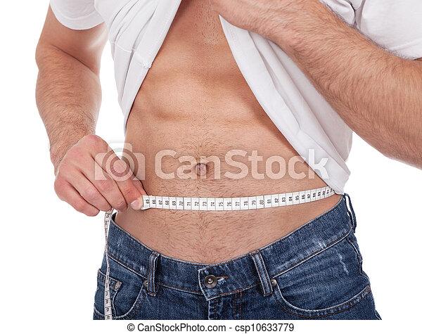 Cintura enorme joven