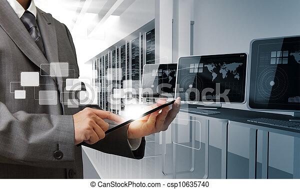 電腦, 房間, 控制 - csp10635740