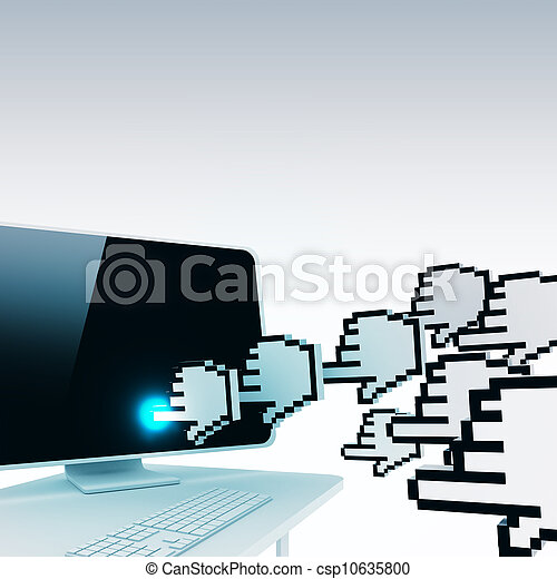 website traffic concept - csp10635800