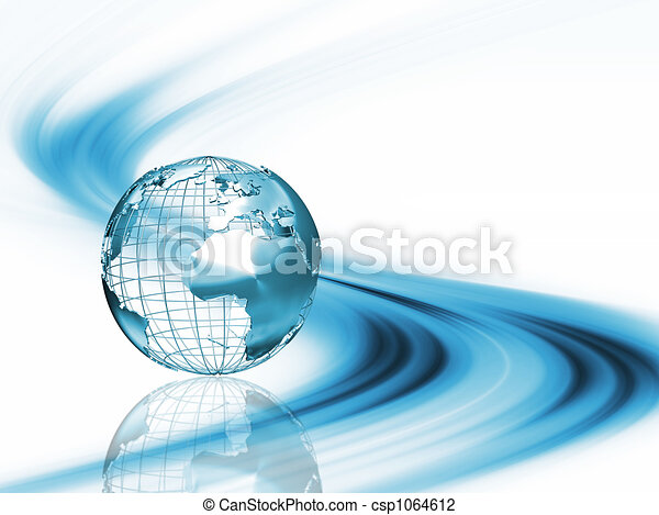 Abstract globe - csp1064612