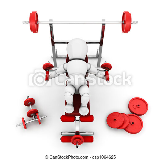 Gym equipment - csp1064625