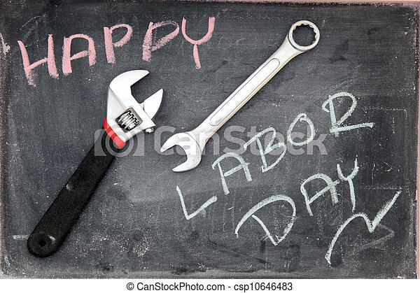 Happy Labor Day - csp10646483