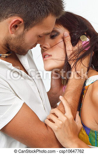 Kissing couple - csp10647762