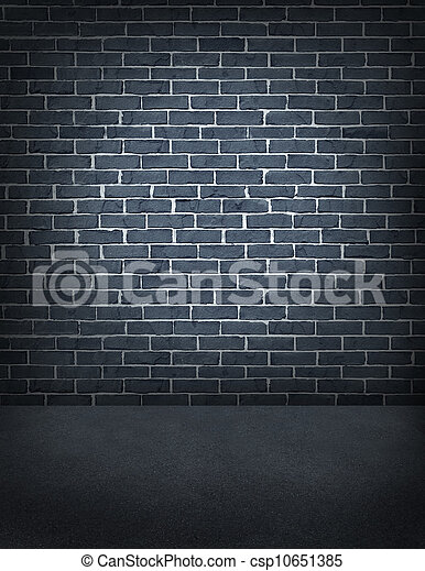 Old Outdoor Brick Wall