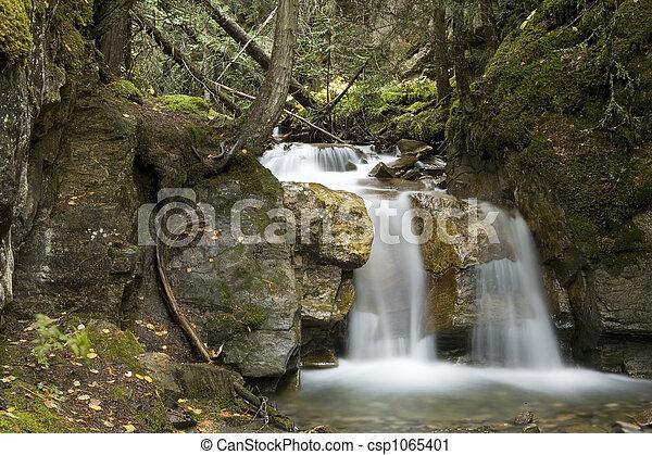 Small Waterfall - csp1065401