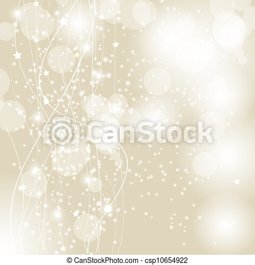 Abstract beauty Christmas and New Year background. Vector illustration - csp10654922
