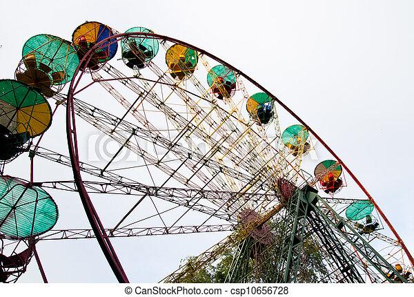 Ferris wheel in the park - csp10656728