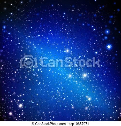 stars on the dark