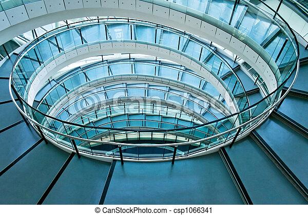 Round stairway - csp1066341