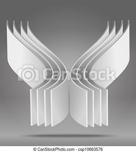 abstract 3D object - csp10663576