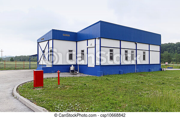 Small milk factory - csp10668842