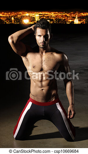 Sexy body man - csp10669684