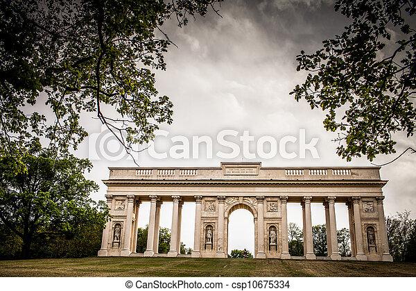 Colonnade Reistna, a neoclassical landmark - csp10675334