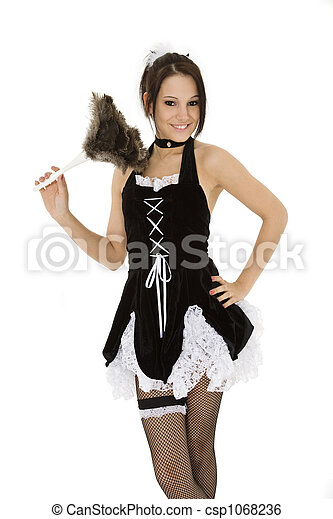 French Maid - csp1068236