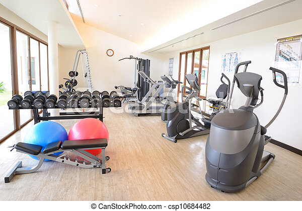 The fitness room - csp10684482