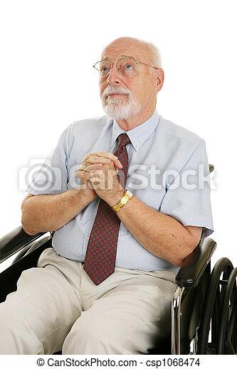 Senior Man of Faith - csp1068474
