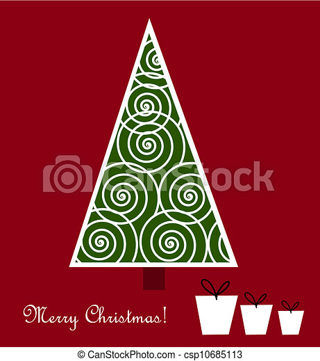 Christmas tree - csp10685113