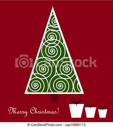 Christmas tree - csp10685113
