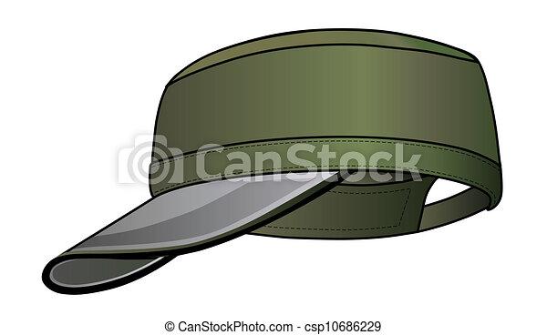 Military cap - csp10686229