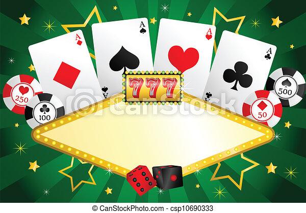 Gambling background - csp10690333