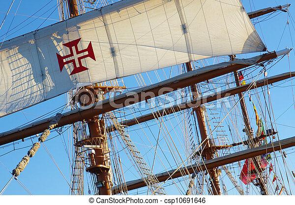 Ship Rigging - csp10691646