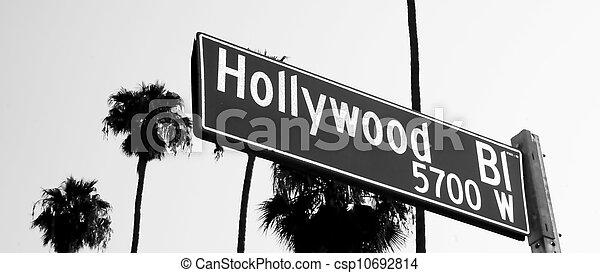 Hollywood Blvd - csp10692814