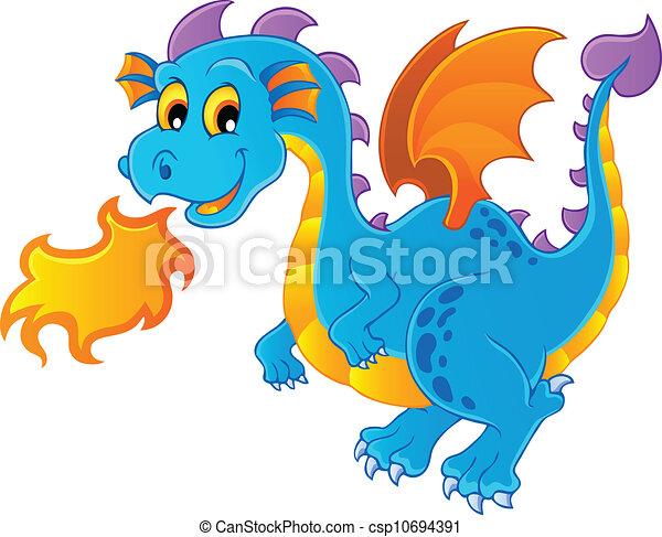 Dragon theme image 4 - csp10694391