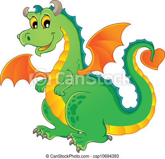 Dragon theme image 1 - csp10694393