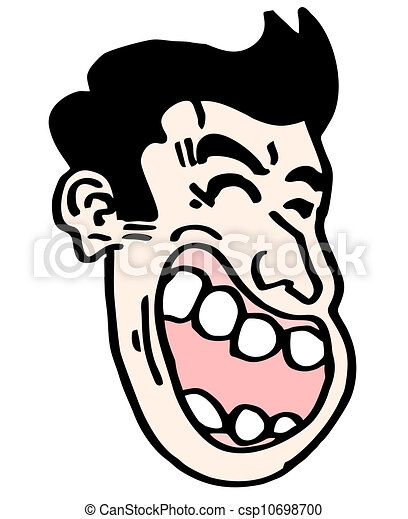 Vector Clipart of Joke face - Design of joke face draw csp10698700 ...