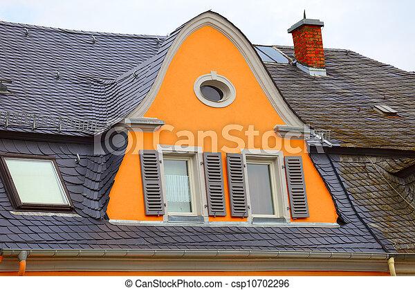 Historic roof - csp10702296