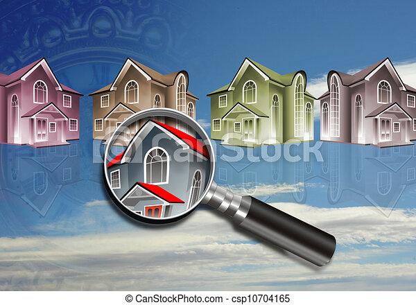 Homes. - csp10704165