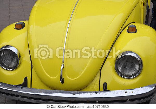 Retro automobile - csp10710630