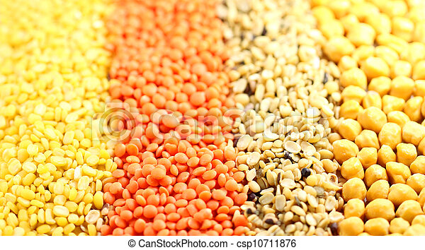 Four types of pulses - csp10711876
